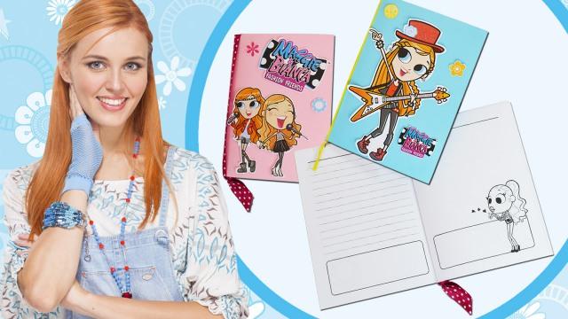 Mini Quaderno Di Maggie Scaricabile Maggie Bianca Fashion Friends