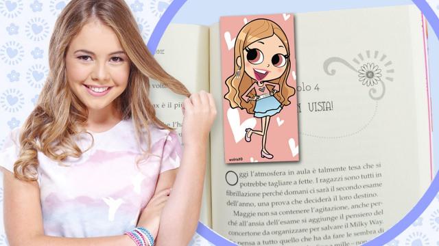 Bookmark 2 downloadable maggie bianca fashion friends for Disegni da stampare maggie e bianca
